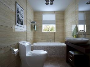 简约 三居 峰光无限 卫生间图片来自我是小样在太奥广场三居108㎡现代简约风格的分享