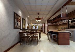 餐厅图片来自沈阳百家装饰小姜在保利海上五月花132平美式风格的分享