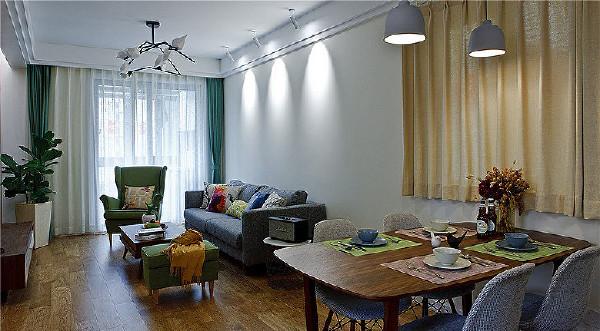 客厅+餐厅设计