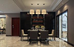 三居 简约 小资 餐厅图片来自河南美巢装饰在郑州鑫苑名家150平三室简约装修的分享