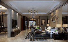 三居 简约 小资 客厅图片来自河南美巢装饰在郑州鑫苑名家150平三室简约装修的分享