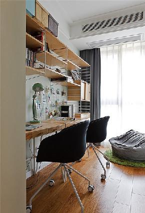 书房图片来自家装大管家在高颜值舒适 100平北欧清爽3居室的分享