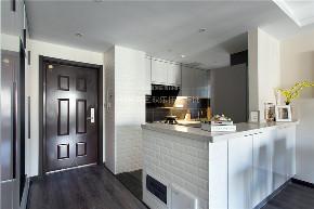 简约 现代 港式 四居 收纳 厨房图片来自四川欢乐佳园装饰在【设•界】他和她的蓝色现代生活的分享