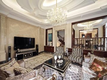 新古典风格别墅完工实景展示