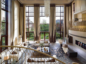 西郊华城别墅装修新古典风格设计