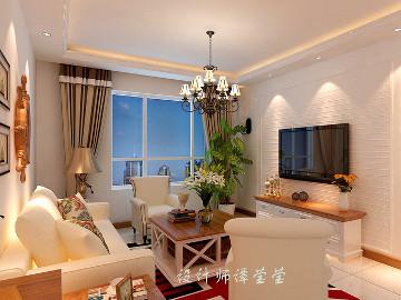 万科香湖盛景93平简美风格