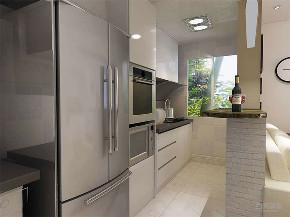 一居室 现代简约 福源花园 厨房图片来自阳光放扉er在力天装饰-福源花园-70²的分享