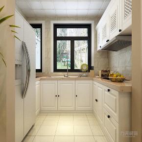 混搭 乳胶漆 三居室 现代 温馨 厨房图片来自阳光力天装饰在力天装饰-剑桥郡-98㎡-混搭的分享