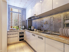 现代风格 三居 富力尚悦居 厨房图片来自阳光放扉er在力天装饰-奥莱 城-96㎡的分享