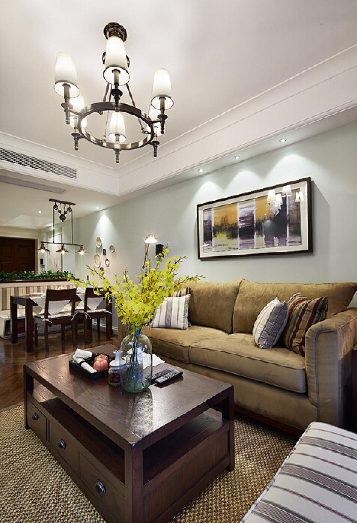 简美风格客厅效果图