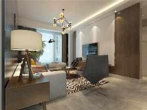 龙发装饰 现代 二居 室内装修 装修效果图 客厅图片来自龙发装饰天津公司在联发第五街二居现代风格的分享
