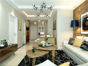龙发装饰 三居 室内装修 装修效果图 现代简约 客厅图片来自龙发装饰天津公司在宝龙城三居现代风格的分享