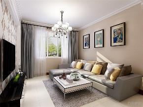 二居 简约 舒畅家园 客厅图片来自阳光放扉er在力天装饰-舒畅家园-95㎡的分享