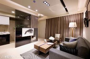 三居 北欧 客厅图片来自幸福空间在美感与机能兼备 99平休闲北欧风的分享