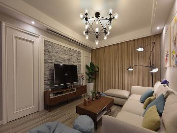125平北欧温馨之家 有腔调的空间