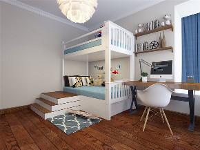 两居室 三口之家 混搭 简约 温馨 卧室图片来自阳光力天装饰在力天装饰-尚佳新苑-120㎡-混搭的分享