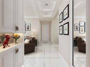 简约 美式 两居 温馨 暖色 客厅图片来自阳光力天装饰在力天装饰-畅水园-70㎡-简美的分享