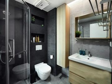 灰色与温暖木色给你完美的家!