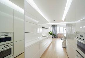 厨房图片来自我是小样在坤元TIME三室108平现代简约风格的分享