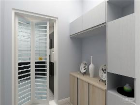 简约 现代 地砖 一居室 挂画 厨房图片来自阳光力天装饰在力天装饰-北安里-55㎡-现代简约的分享