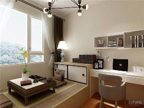 简约 现代 四居 电视墙 阳台 卧室图片来自阳光力天装饰在力天装饰-天泰园-180㎡-现代简约的分享