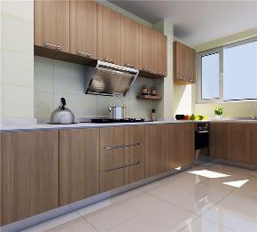 南益 二居 现代 装修效果图 室内装修 厨房图片来自龙发装饰天津公司在南益名士华庭二居现代风格的分享