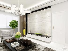 简约 现代 四居 电视墙 阳台 客厅图片来自阳光力天装饰在力天装饰-天泰园-180㎡-现代简约的分享