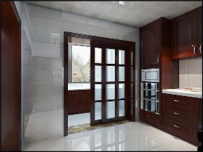 阳光北园 三居 新中式 装修效果图 装修哪家好 厨房图片来自龙发装饰天津公司在阳光北园三居新中式风格的分享