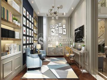 英庭名墅400平别墅现代风格设计