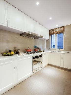 新古典 四居 大户型 复式 跃层 loft 小资 别墅 厨房图片来自高度国际姚吉智在175平米古典美而不俗的低调高雅的分享