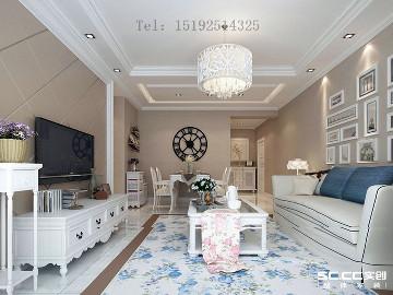 中广宜景湾现代简约两居室96平