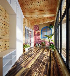 简约 三居 白领 收纳 80后 美式 生活家 装修 家居 阳台图片来自生活家-月昂在中航城113㎡美式风格鉴赏!的分享