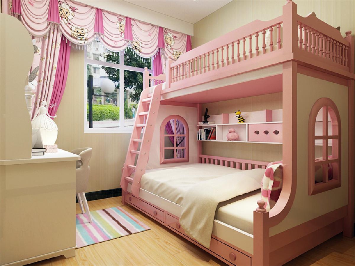 主卧是一间主人房,通过暖色调的营造一种浪漫和温情的氛围,挂画背景墙美观富有内涵,运用的彩色都是用在易更换的地方, 可以更好的使一个空间多变化。