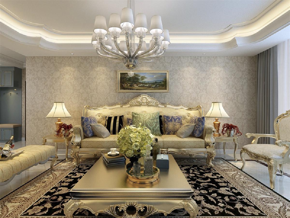 客厅带有阳台,光照充足,空气流通较好,面积较大,使用方便。