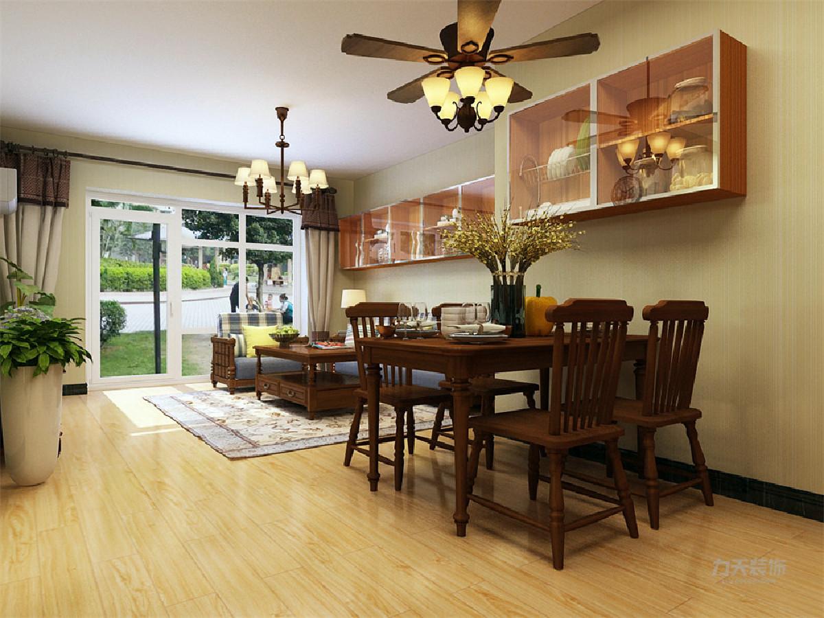 整体方案采用较为鲜明的色彩对比,多用黄色、白色为基调色,通过色块来表现内涵,如木色地板奶黄色墙漆等色调表现家居的稳重大气;