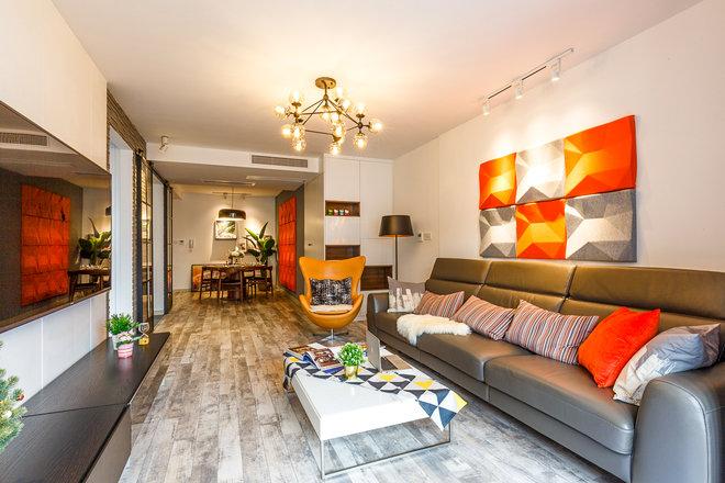 三居 客厅图片来自金煌装饰有限公司在两房两厅北欧风情的分享