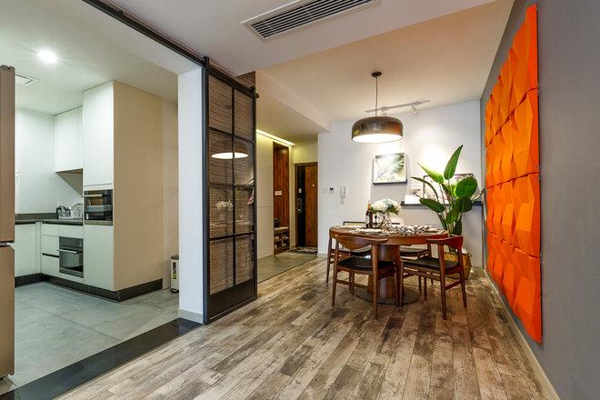 三居 餐厅图片来自金煌装饰有限公司在两房两厅北欧风情的分享