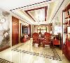 中国传统居室非常讲究空间的层次感,这种传统的审美观念在新中式装饰风格中又得到了全新的阐释。