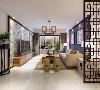 大理泰安新城新中式风格装修案例效果图 大理有实力的装修公司排名室内设计采用现代新中式风格,设计手法简洁干炼,以旧创新。