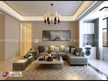 济南中海国际社区装修设计案例