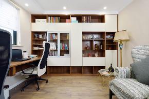 二居 书房图片来自金煌装饰有限公司在68平米简美婚房的分享