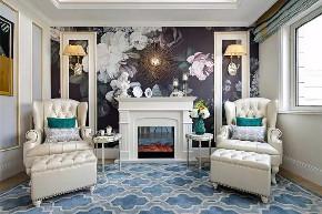 阳台图片来自小装饰在保利领秀山300平美式大宅的分享