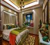 143平米东南亚风格迷人异域美感