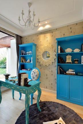 三居 书房图片来自小装饰在兰州110平米地中海装修案例的分享
