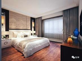 中式 新中式 别墅 三居 小资 收纳 简约 卧室图片来自众意装饰 李潇在聚福苑新中式风格案例的分享
