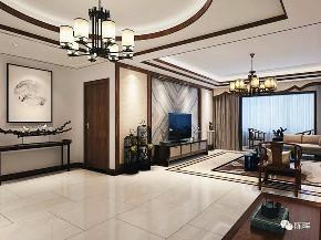 中式 新中式 别墅 三居 小资 收纳 简约 客厅图片来自众意装饰 李潇在聚福苑新中式风格案例的分享