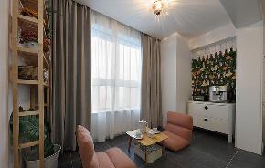 阳台图片来自家装大管家在89平北欧日式混搭居 文青的最爱的分享