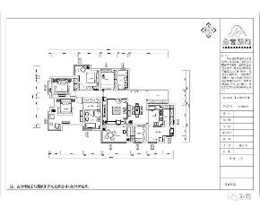 新中式 中式 简约 四居 别墅 收纳 小资 现代简约 户型图图片来自众意装饰 李潇在天鹅堡新中式风格案例的分享