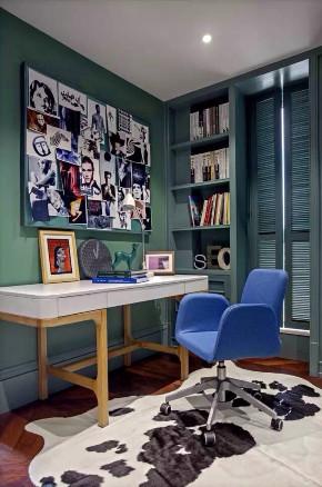 书房图片来自高度国际设计小雅在混搭的分享