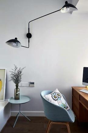 书房图片来自小装饰在兰州万里厂90平米北欧风的分享